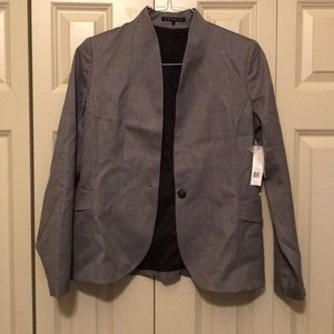 Gray theory suit jacket